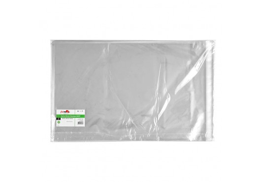 Sachet transparent zip 40x55