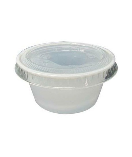 Pot plastique 60 ml