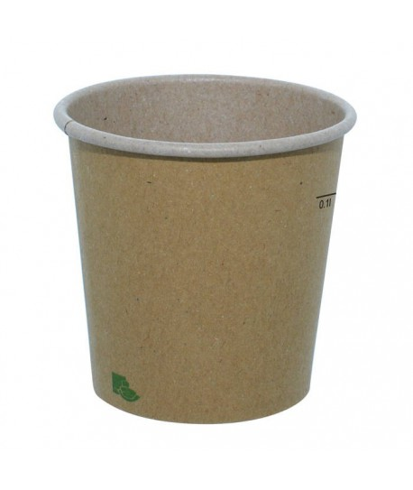 Gobelet carton recyclable nature 12 cl expresso