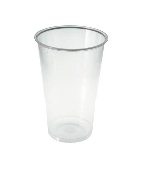 Gobelet plastique transparent 33 cl