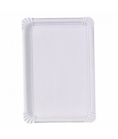Assiette carton rectangle 18 x 26cm