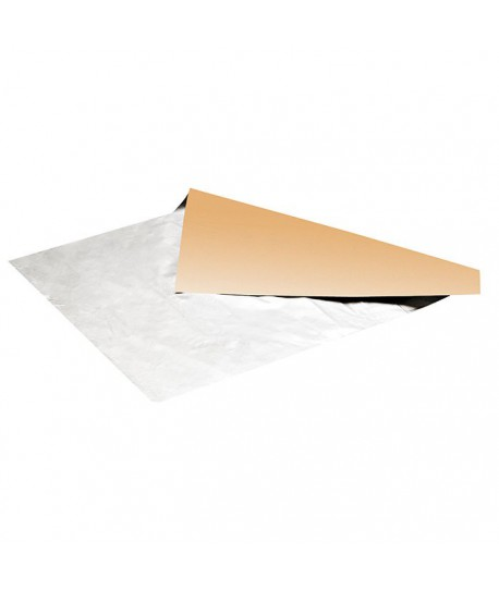 Papier aluminium double face kraft