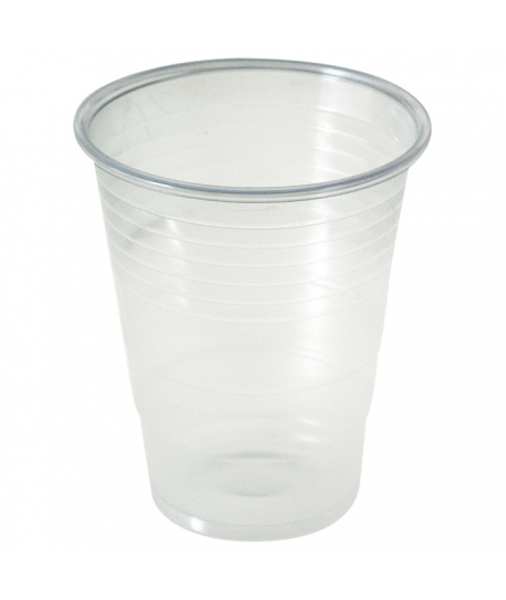 Gobelet plastique transparent 20 à 23 cl