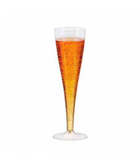 Coupe à champagne transparent 17 cl
